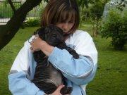 Angelinka se svou paničkou