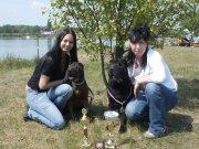 máma Anička a její klouček Arízek