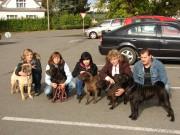 Ais, Angelina, máma Anička, teta Šerpi a Arízek